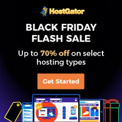 HostGator Black Friday Deals - Big Sale