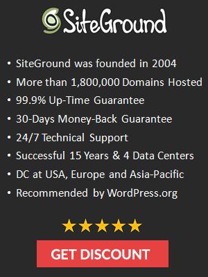 SiteGround #1 Web Hosting