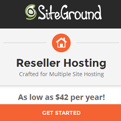 SiteGround Reseller Hosting Discount