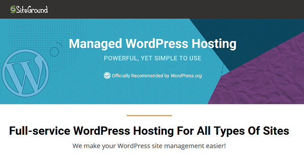 SiteGround WordPress Hosting Deals