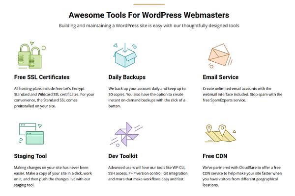 SiteGround WordPress Tools