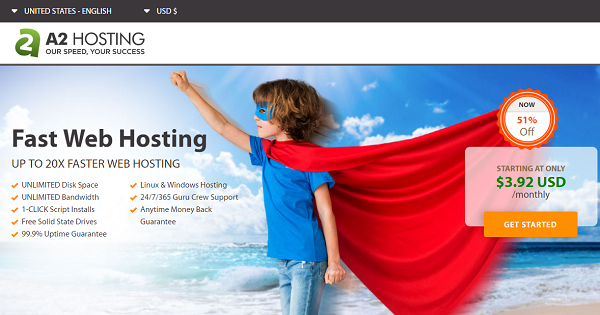 A2Hosting Shared Hosting Deals
