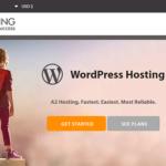 A2 Hosting WordPress 2019 → 51% OFF + Free SSL Certificate