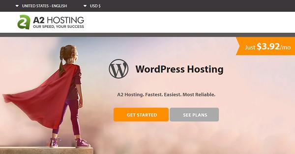 A2Hosting WordPress Hosting Deals