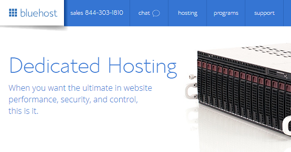BlueHost Dedicated Hosting Deals
