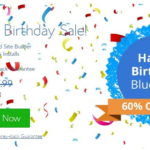 BlueHost Birthday Sale 2019 → Get 67% OFF + Free Domain Name