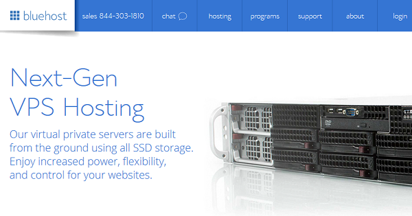 Bluehost VPS Hosting Deals