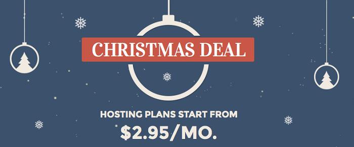 SiteGround Christmas Deals