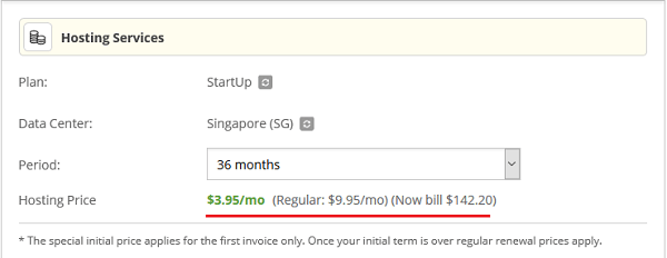 SiteGround Renewal Discount 36-Months