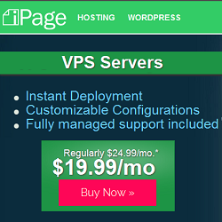 iPage VPS Hosting Deals and Coupons