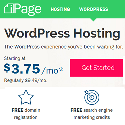 iPage WordPress Hosting Deals and Coupons