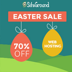 SiteGround Easter Deals and Coupons