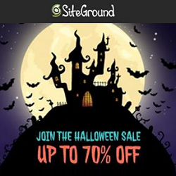 SiteGround Halloween Deals and Discounts