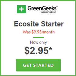 GreenGeeks Black Friday / Cyber Monday Sale