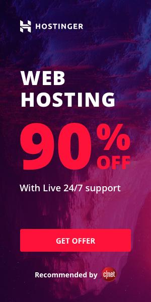 Hostinger Hosting Discount