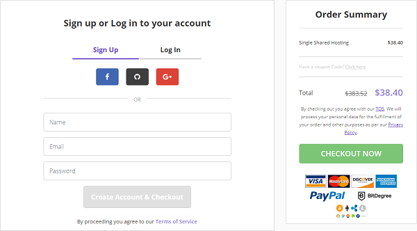 Hostinger Signup or Login Account