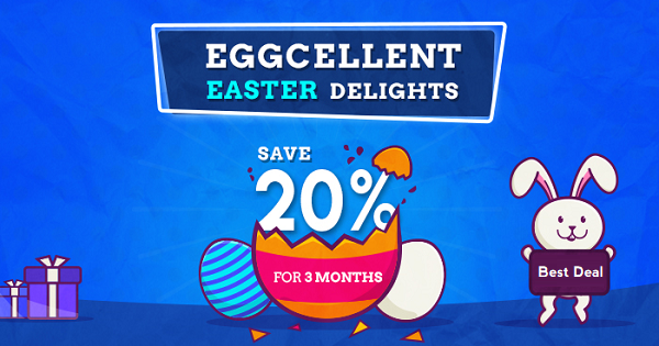 Cloudways Easter Sale