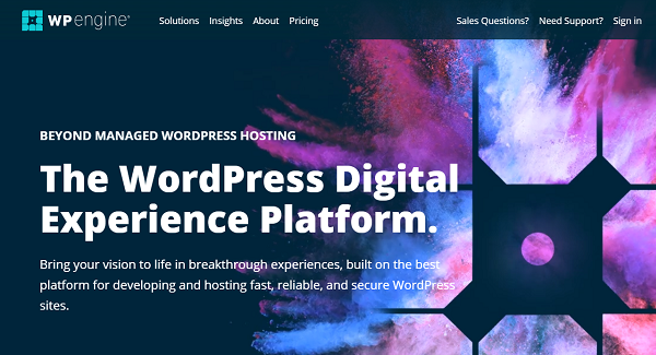 WPEngine Web Hosting Services