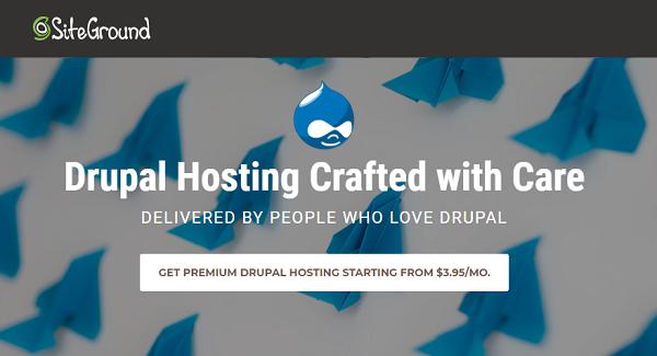 SiteGround Drupal Hosting Discount