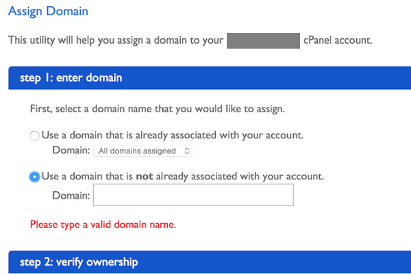Assign Domain Name to BlueHost Hosting