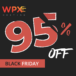 WPX Hosting Black Friday Deals 2019